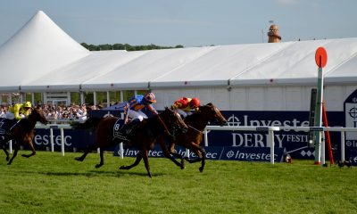 Investec Oaks 2015 - Ladies' Day at Epsom Downs Racecourse Featuring: Atmosphere, Colm O'Donoghue Qualify Where: Epsom, United Kingdom When: 05 Jun 2015